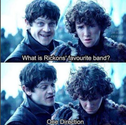 rickon game thrones joke