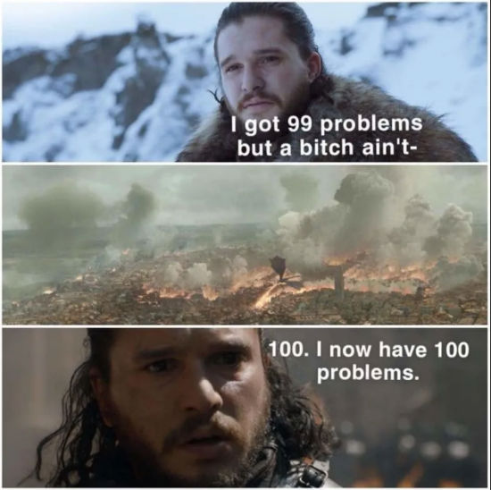 jon snow season 8 meme